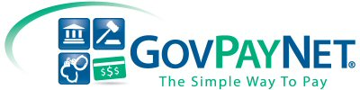 graphic links to govpaynow.com, the simple way to pay