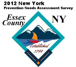 Poster to advertise the 2012 Essex County Youth Prevention Needs Assessment Survey
