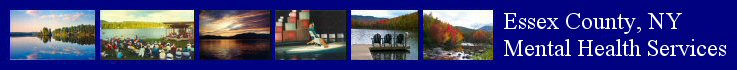 Essex County, New York scenery, from left to right: Lincoln Pond, Elizabethtown; Lake Placid Sinfonietta; Lake Placid; World-class skaters at the Olympic Center; Heart Lake, North Elba; Ausable River, Jay (Heart Lake and Ausable River photos courtesy of Steve and Luisa Towne, all others provided by Mike Brenish)